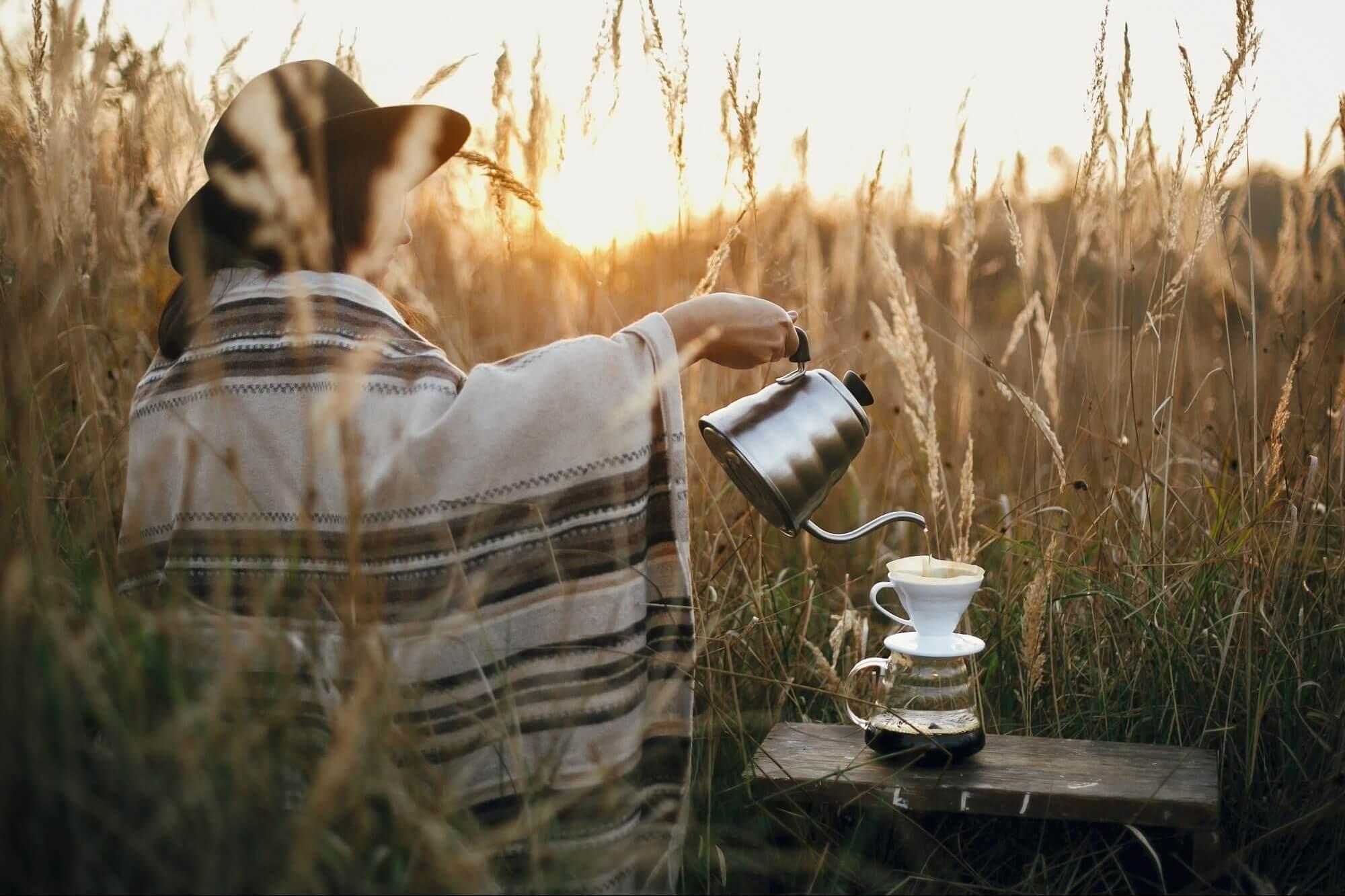 手沖咖啡基本入門技巧,有品味的生活從每天一杯手沖咖啡開始